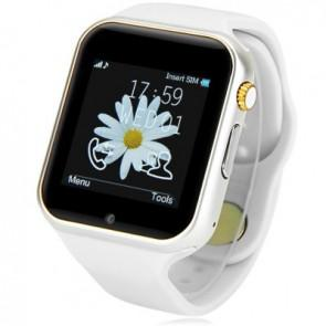 Teclast T11 Smartwatch 1.54 inch MTK6260 Camera Sleep Monitor Bluetooth Pedometer Music Sleep Monitor FM White