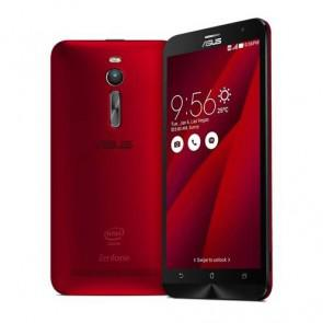ASUS Zenfone 2 ZE551ML 4G LTE Android 5.0 2GB RAM 16GB ROM Dual SIM SmartPhone 5.5 Inch 13MP Camera Silver Red