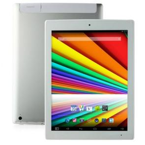 CHUWI V99i 3G Android 4.4 Quad Core Intel Z3735D 9.7 inch Tablet 2GB 16GB WIFI OTG White & Silver