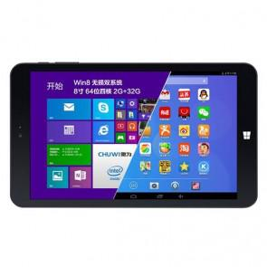 Chuwi Vi8 Windows 8.1 & Android 4.4 Intel 64 Bit Z3735F 2GB 32GB 8 Inch Tablet PC HDMI OTG Black