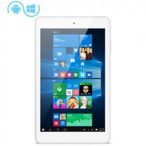 Cube iWork8 Ultimate Windows 10 & Android 5.1 Intel Z8300 quad core 2GB 32GB Tablet 8 inch OTG HDMI 2MP Camera White