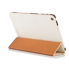 Original Cube i6 Tablet PC Leather Case Steel Wire Edge Stand Cover  White