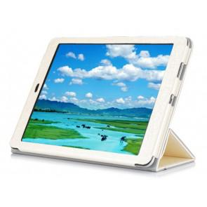 Cube T9 9.7 Inch 4G Tablet Original Steel Wire Texture Leather Case White