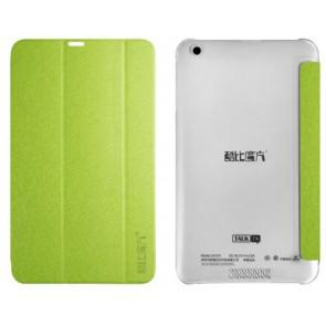 Original Cube Talk 7X Tablet Leather Case Stand Cover Green