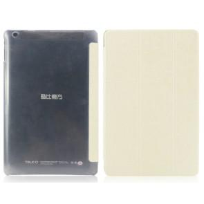 Original Leather Case for 10.1 inch Cube TALK10 Tablet PC White