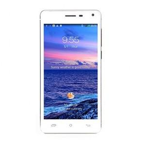 CUBOT S200 3G MTK6582 quad core Android 4.4 1GB 8GB 5 Inch Smartphone 3300mAh Battery 13MP camera White
