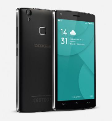 DOOGEE X5 Max 3G Android 6.0 1GB 8GB MTK6580 Quad Core Smartphone 5.0 Inch 8MP Camera 4000mAh Battery Black