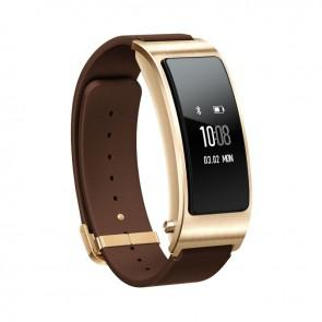 Huawei Talkband B3 Smartband Bluetooth headset Smart Wristband Run Walk Ride Climb Sleep Mode Y6M4 Mocha Brown