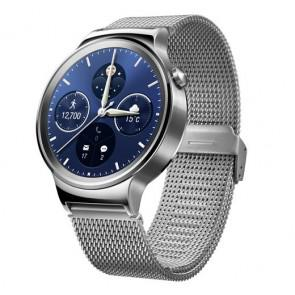 Huawei Watch Android Wear 1.4 Inch Sapphire Crystal 4GB ROM Silver