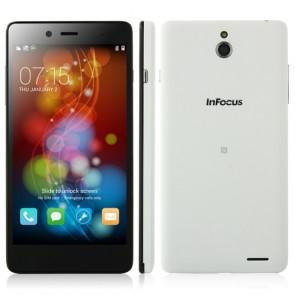 InFocus M512 Android 4.4 Snapdragon MSM8926 Quad Core 4G Smartphone 5.0 Inch 8MP camera WIFI White
