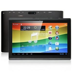 Nextway F7 Android 4.1 RK3066 Dual Core 1GB 16GB 7 Inch Tablet PC Dual Camera Black