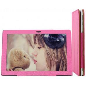 Onda V101w Windows 8.1 Tablet Original Leather Case Folding Stand Cover Pink