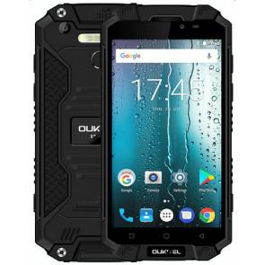 OUKITEL K10000 Max 4G LTE 3GB 32GB MT6753 Smartphone Android 7.0 5.5-inch 16MP camera 10000mAh battery IP68 waterproof  Black