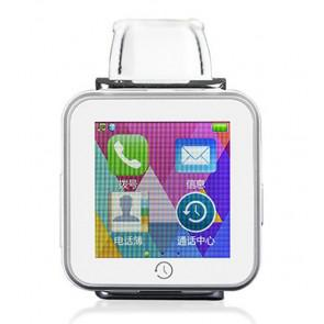 PIPO C2 Bluetooth Smart Watch iOS Android Wear Phone Call Function White