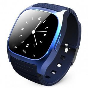 RWATCH M26 1.4 Inch Touch Screen with Dial / Call Answer / SMS Reminding / Music Player / Anti - lost / Passometer / Thermometer Blue