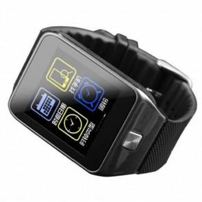 RWATCH R5 1.54 inch screen Bluetooth 4.0 Smart Watch with Hands-Free Calls Pedometer Gyro Gravity Sensor for Android iOS Black