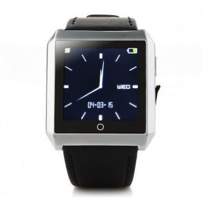 RWATCH R6S Wearable Bluetooth 4.0 Smart Watch Hands-Free Call Pedometer Sleep Compass for iPhone Android Sliver