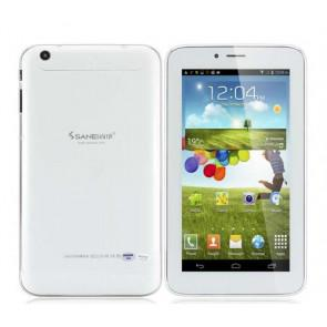 Sanei G605 Android 4.2 3G phone call 6.44 Inch dual core Tablet PC dual camera OTG 16GB ROM White