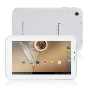 Sanei G703 Android 4.2 Phone Call 8GB ROM 7 inch Tablet PC screen WiFi Dual Camera White