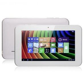 Sanei N77 Android 4.0 8GB ROM Tablet PC 7 inch IPS Screen 2MP Camera WIFI White