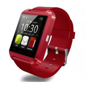 U8 U Watch Bluetooth Smart WristWatch for iPhone Samsung HTC LG Android Smartphones Red