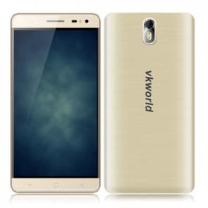 VKworld G1 4G LTE 3GB 16GB MTK6753 Android 5.1 Smartphone 5.5 Inch 13MP Camera 5000mAh Gold