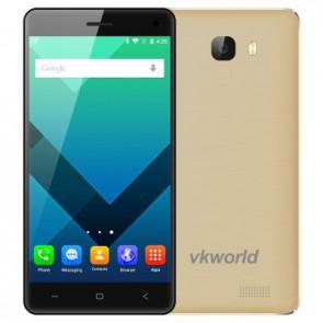 VKworld T5 SE 4G LTE Android 5.1 MTK6735 1GB 8GB Smartphone 5.0 inch Screen 13MP Camera Gold
