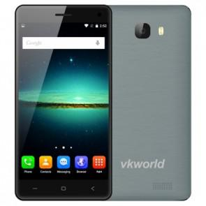 VKworld T5 SE 4G LTE MTK6735 Android 5.1 Smartphone 5.0 inch Screen 1GB 8GB 13MP Camera Gray