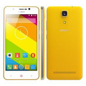 ZOPO Color E ZP350 Android 5.1 MT6735 Quad Core 4G LTE Dual Sim Smartphone 5 inch 1GB 8GB 8MP Camera OTG Yellow