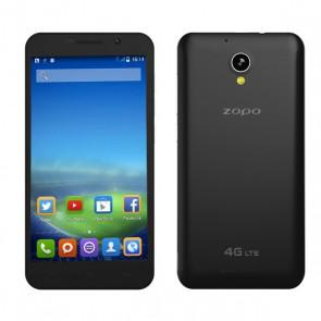 ZOPO ZP520 4G LTE Android 4.4 MTK6582 quad core 1GB 8GB Smartphone 5.5 Inch 8MP camera Black