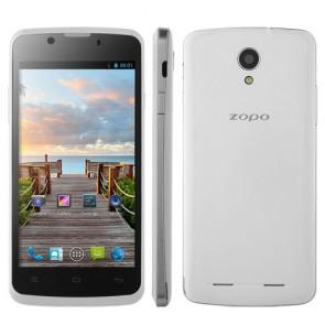 ZOPO ZP590 Android 4.4 MTK6582 Quad Core 4.5 Inch Smartphone 3G WIFI 5MP camera White