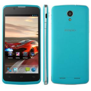 ZOPO ZP590 Android 4.4 Quad Core MTK6582 4GB ROM 4.5 Inch Smartphone 5MP camera Blue