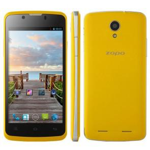 ZOPO ZP590 MTK6582 Quad Core Android 4.4 4.5 Inch Smartphone 4GB ROM 5MP camera Yellow