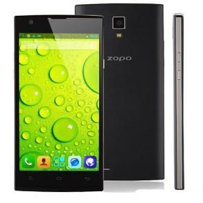 ZOPO ZP780 MTK6582 quad core Android 4.2 Smartphone 5.0 Inch 1GB 4GB 8MP camera Black