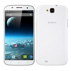 ZOPO ZP990+ Smartphone Android 4.2 MTK6592 Octa core 2GB 32GB 5.95 Inch FHD Gorilla Glass 14.0MP camera White