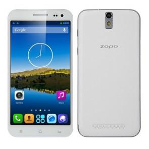 ZOPO ZP998 Smartphone Android 4.2 Octa Core 5.5 Inch Gorilla Glass FHD Screen 2GB 16GB 14MP camera OTG NFC White