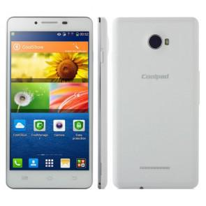 Coolpad K1 7620L 4G LTE Android 4.3 MSM8926 Quad Core 5.5 Inch Smartphone 8MP camera White