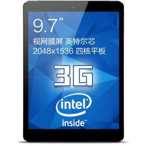 Cube i6 3G Android 4.4 Intel Z3735F quad core 9.7 Inch Tablet PC 2GB 32GB GPS OTG Black & Blue