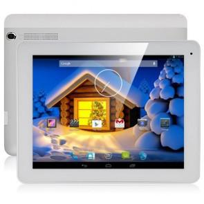 Freelander PD80 3G Phone Call Android 4.2 MTK8382 Quad Core 9.7 Inch Tablet PC 16GB ROM Dual camera White