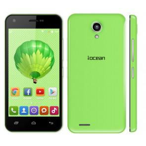 Iocean X1 3G Android 4.4 MTK6582 quad core 8GB ROM 4.5 Inch Smartphone 8MP camera WiFi OTG Green