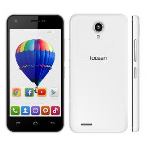 Iocean X1 MTK6582 quad core 4.5 Inch Smartphone 1GB 8GB 8MP camera Android 4.4 3G OTG White