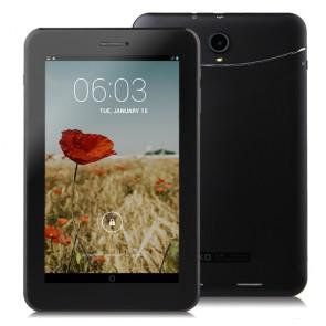 JXD P1000B Android 4.2 Dual Core MTK8312 7.0 Inch 3G Tablet PC Dual SIM Card 4GB GPS Black