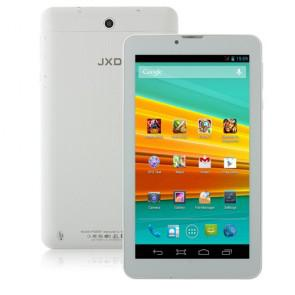 JXD P3000F 3G Android 4.2 MTK8312 Dual Core Tablet PC 7.0 Inch 4GB Bluetooth WiFi White