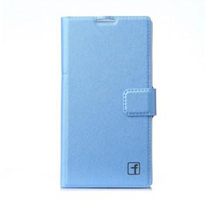 Fashion Flower Show Leather Stand Case Cover for Xiaomi Hongmi Smartphone Blue