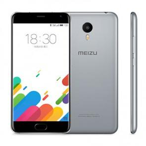 Meizu Metal Helio X10 Octa Core 2GB 32GB Android 5.1 4G LTE Smartphone 5.5 Inch 13MP camera Grey