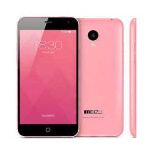 Meizu Meilan Flyme 4 MTK6732 quad core 8GB ROM 5.0 Inch Smartphone 13MP Camera Dual Band WiFi Pink
