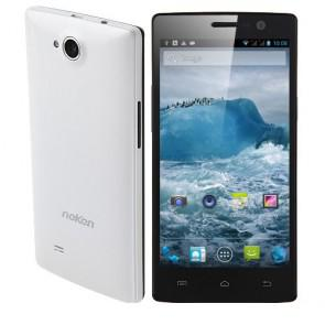 Neken N6 Android 4.2 MTK6589T Quad Core 5.0 Inch Smartphone 13MP camera 1GB 16GB WiFi GPS White