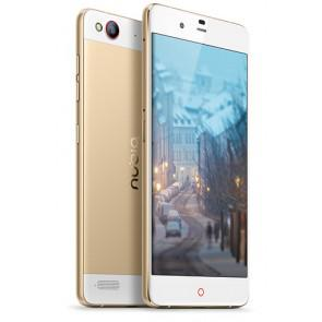 Nubia My Prague 3GB 32GB Snapdragon 615 Android 5.1 Dual SIM 4G LTE Smartphone 5.2 Inch 13MP camera Gold