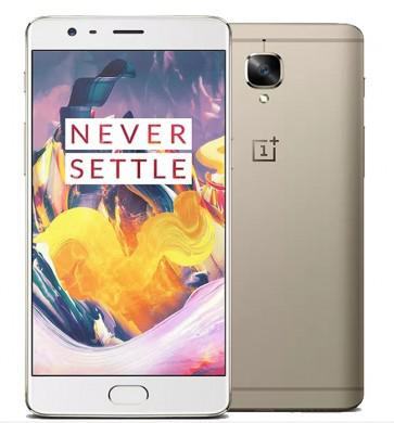 OnePlus 3T 6GB 64GB Snapdragon 821 Android 6.0 4G LTE Smartphone 5.5 inch 16MP camera Gold