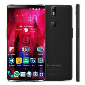 ONEPLUS TWO 4G LTE 3GB 64GB Snapdragon Quad Core 2.7GHz Smartphone 5.5 Inch FHD Screen 16.0MP Camera OTG NFC Black